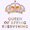 awry: (stock: queen of everything) (Default)