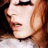 awry: (stock: eyelashes)