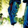 Something like a crossroads song: s: mobster streets run blue and purple