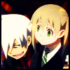 cyndersofember: soul eater (soul maka happy)