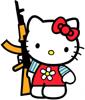 nadalia: (rifle kitty)