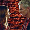 rebcake: Buffy and Spike about to kiss during OMWF finale. (omwf_finale)