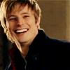 yourlibrarian: Bradley James laughs (MERL-LaughingBJ-miakun)