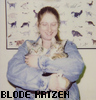 gem225: me holding my two cats, Cisco and Circe, as kittens (blode katzen)