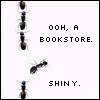 fantasticplanet: (books ant shiny) (Default)