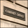 gramarye1971: Cabinet Office exterior placard in Whitehall (Cabinet Office)