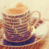 iluxia: (+ coffee makes me human)