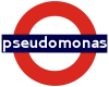 "pseudomonas: ""pseudomonas"" in London Underground roundel (roundel)"