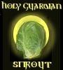 pseudomonas: an Holy Guardian Sprout Icon (apologies to Robert Rankin) (sprout)