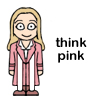 merryghoul: think pink (romana II)