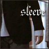 highlander_ii: Greg House's shirt sleeve extended beyond his jacket sleeve with text 'sleeve' ([House] the sleeve)