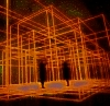 narrativian: Antony Gormley art light cage (L: trapped)