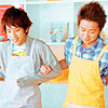 hontowa: Ohmiya being domestic (Ohmiya 夫婦)