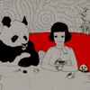 amber: ⌠ ART ⊹ Panda&Girl ⌡ (ⓣ here's to drinks at the end of my road)