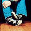 hazyshade: (Patrick: cute feet)