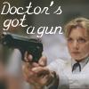 bedside_manners: (Doctor's got a gun)