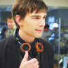 skieswideopen: Auggie Anderson giving a thumb's up (Covert Affairs: Auggie Anderson)