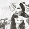 skieswideopen: Black and white icon of Snow White (Once Upon a Time: Snow)