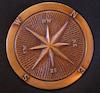 searchnotes: A brass compass (compass)