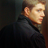 earthbelow: Dean Winchester looking over his shoulder. (spn)