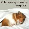 makd: reclining hamster (apocalypse)