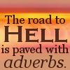 afullmargin: (adverbs)
