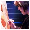 sketch: taken at the Kopp Gallery (painting)