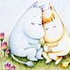 whisper: Moomins Cuddling (Default)