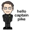 twtd: Pike- Hello Captain Pike (Star Trek- Pike cartoon hello Cpt. Pike)