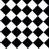 facetofcathy: Black and White checkerboard (2 Tone)
