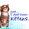 leaveatrailoffire: kitten with text: and... I don't know... kittens. (what IS rambly anyway? IT IS EVERYWHERE )