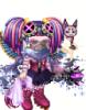 tingel: (purple punk)