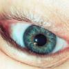 foxfirefey: A close up of my eye, upside down. (eye)