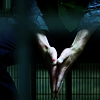 manofmyword: Hands, seen through jail cell bars. (⑼ the store by the dungeon)