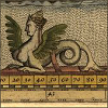 stranger: winged mermaid from medieval bestiary (winged mermaid)
