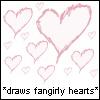cesy: *draws fangirly hearts* (Fangirl)