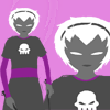 dagas_isa: Rose from Homestuck looking grim and also dark (grim dark rose)
