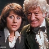sharpest_asp: Sarah Jane and Three together (Doctor Who: Three and Sarah Jane)