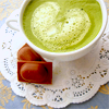 Adlina: Green Tea Latte