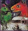 bethbethbeth: An excerpt from a Marc Chagall painting (Art Chagall Winter (bbb))