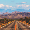 lizcommotion: an open road stretches into the distance (open road)