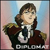 gramarye1971: Colonel Une aiming a handgun at the viewer (EP 7) (Gundam Wing: Diplomat)