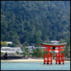 gramarye1971: floating torii at Itsukushima Shrine in Japan (Miyajima)