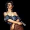 ext_512358: woman holding a gun (floored)