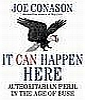 technocracygirl: Cover of Joe Conason's book _It Can Happen Here_ (Authoritarianism)