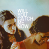 "veleda_k: Gwen and Morgana from BBC Merlin. Text says, ""Will you catch me now?"" (Merlin BB- Gwen/Morgana)"