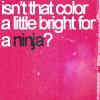 defenestrate: ([PKMN] {Misty} ninja colors)