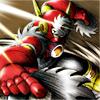 metal_blader: (fighting, Metal Man)