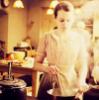 lillbet: (In the kitchen.)