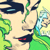 mistressofmagnetism: (sᴍᴜɢ ⚡ winking (with bonus tiny pietro))